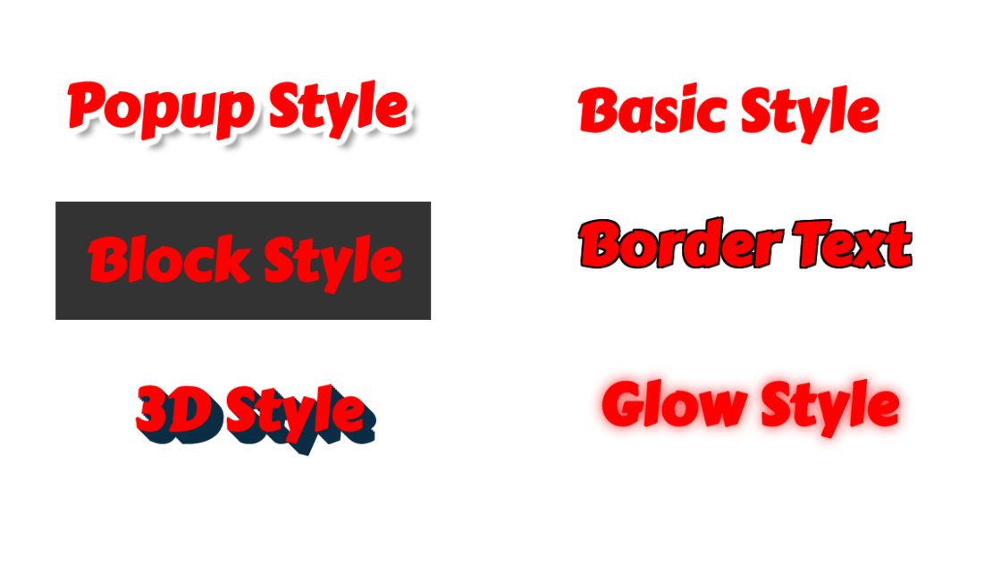 The Text Component In AnnotatePro Has Been Updated With 4 New Font Styles As Shown Below