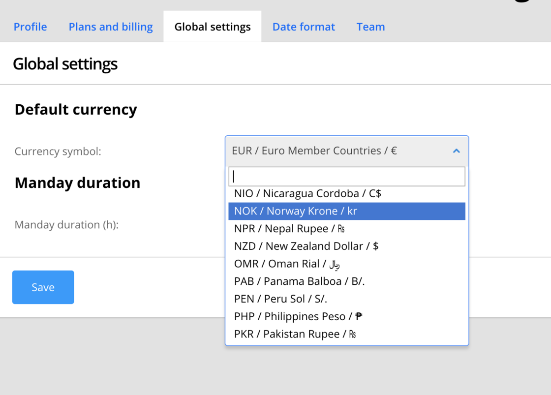 All Currencies Are Available Price And Cost Changelog