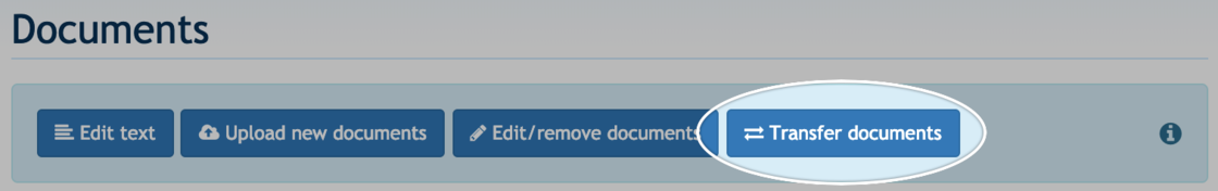 Transfer documents