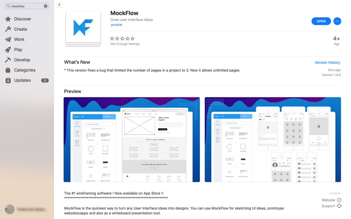 Launching MockFlow in Mac App Store - MockFlow updates