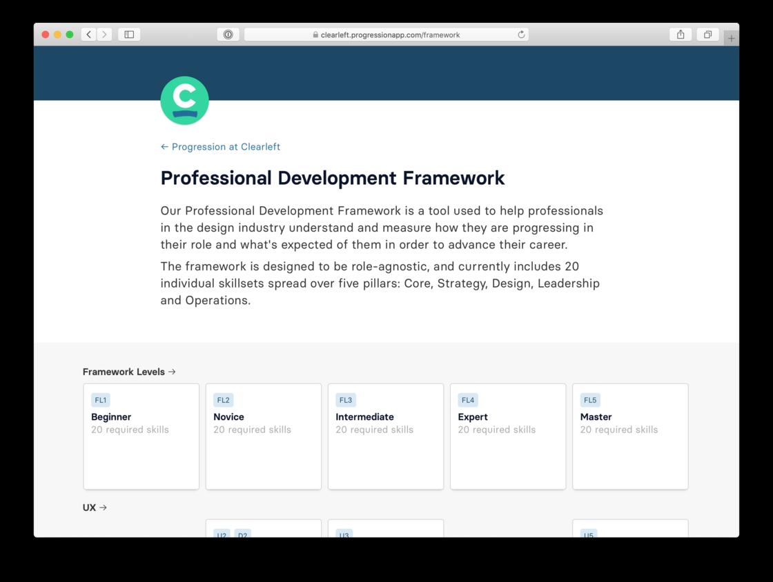 Clearleft's framework