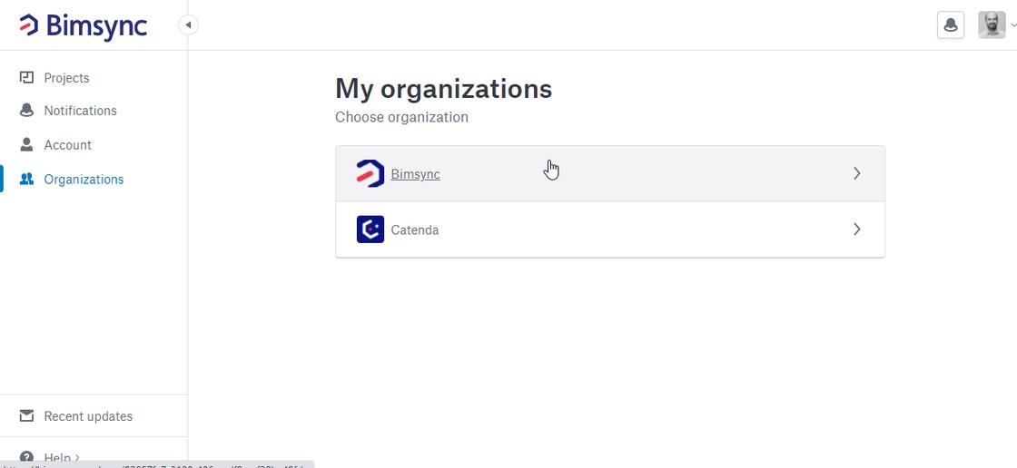 2020-09-11 Bimsync - My organizations.png