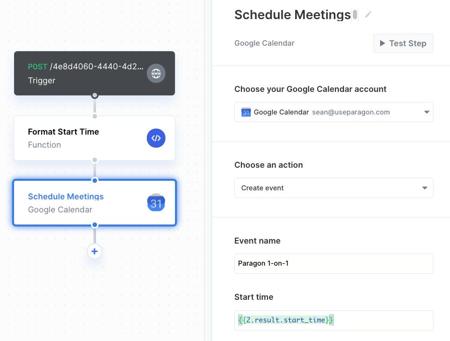 Scheduling Google Calendar invites through Paragon.png