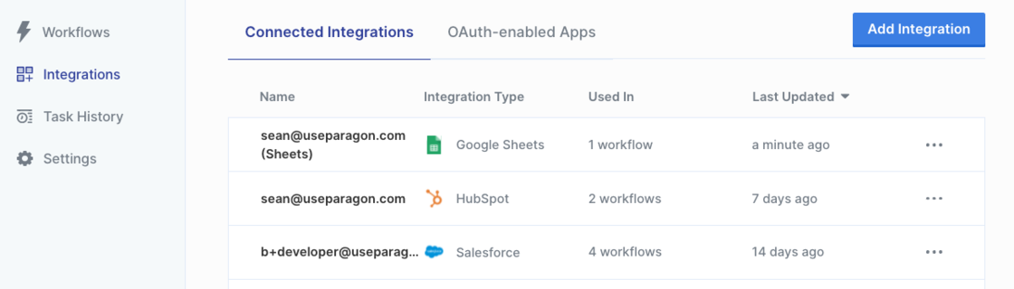 Viewing your connected integrations in the Integrations Manager.png