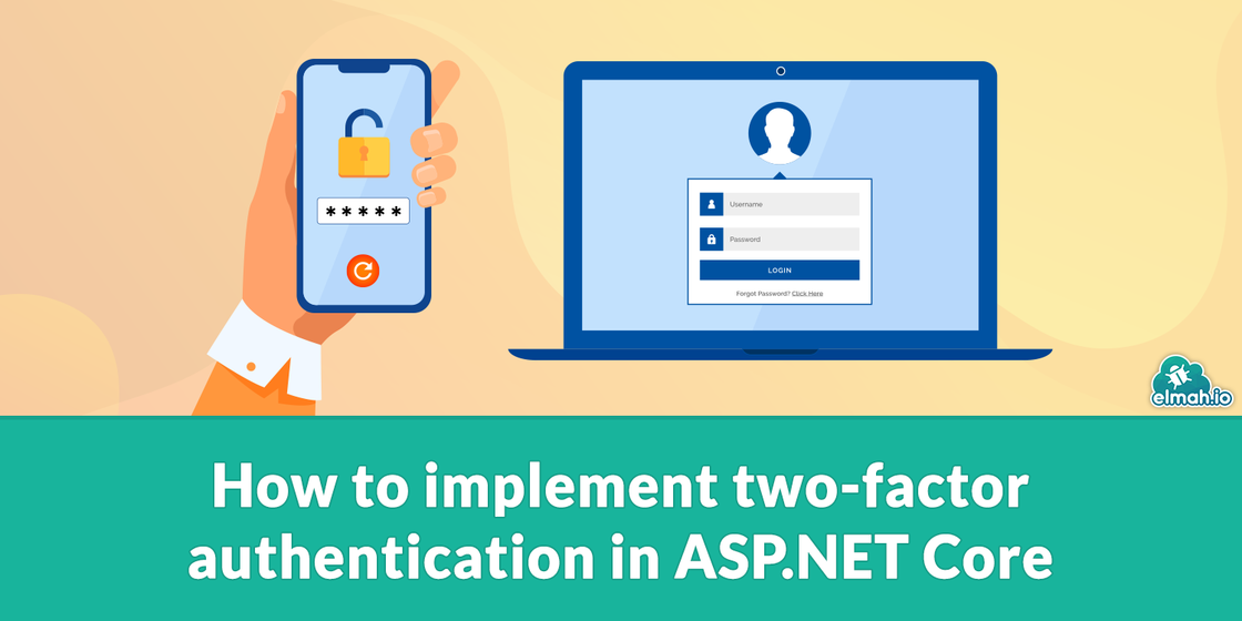 How to implement two-factor authentication in ASP.NET Core