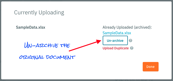 Un-archive on Dupe Upload.png