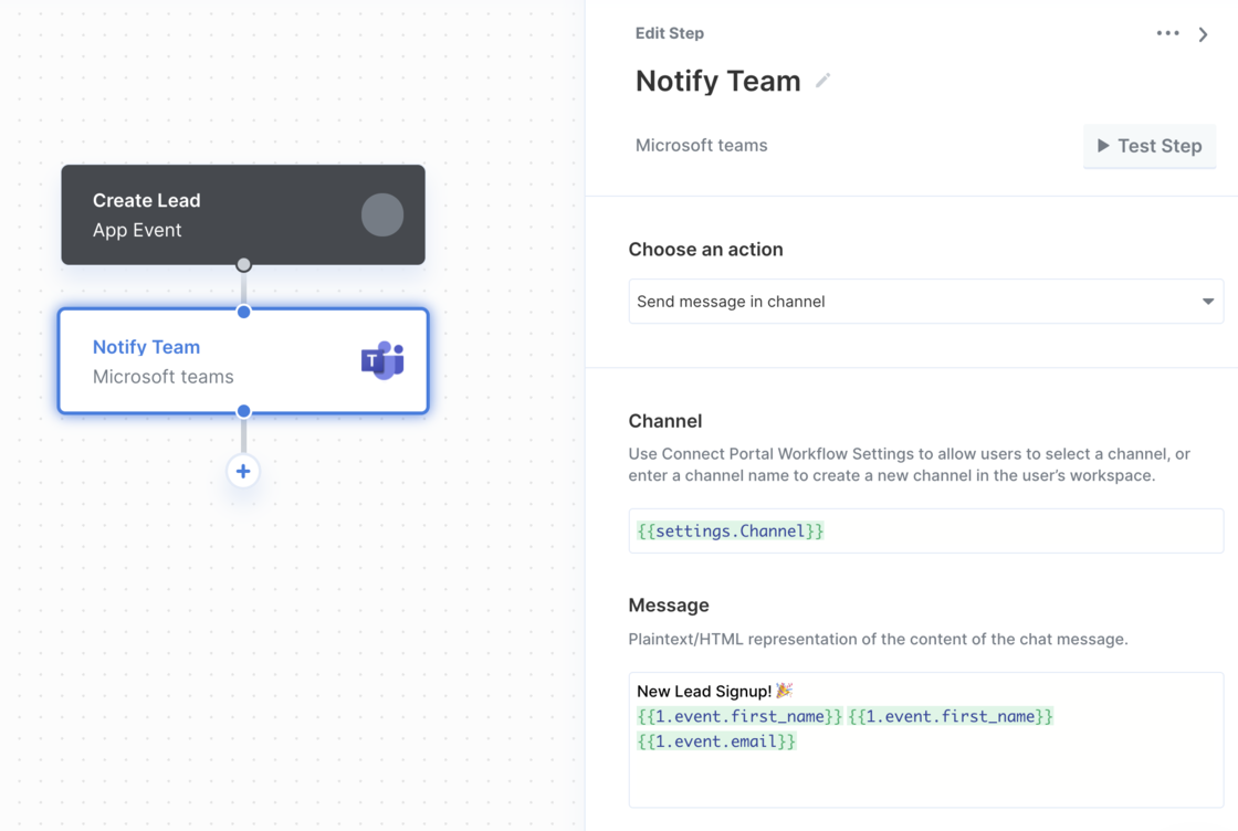 Sending messages to Microsoft Teams using Paragon Connect.png