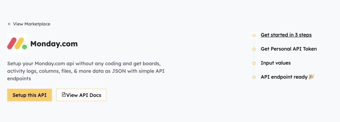 Monday.com API