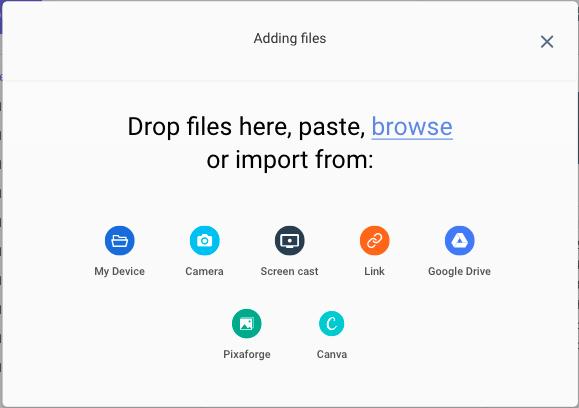 Filerobot Uploader Options